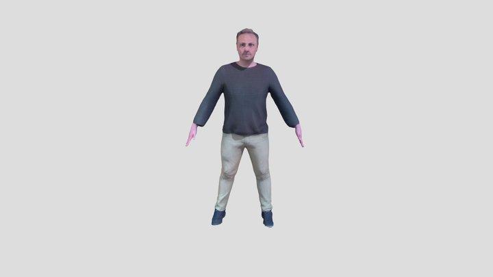 Richard test 3D Model