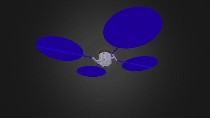 Spacecraft-Octagon-UltraFlex-13-Apr-2014 3D Model