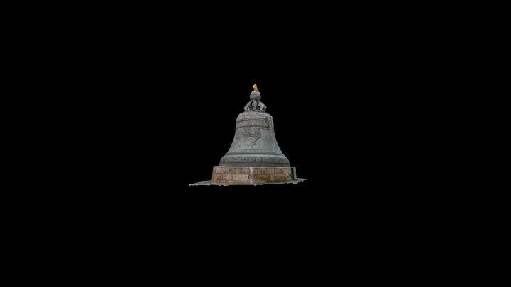 Tsar Bell - Царь–колокол 3D Model