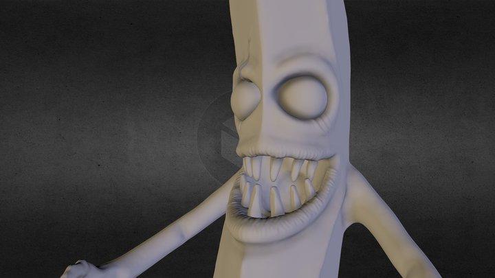 Monster Sculpt - Banana 3D Model