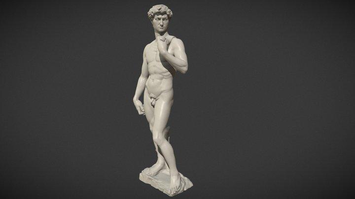 Michelangelo David 3D Model