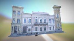 Saint-Petersburg, house on the riverside 3D Model