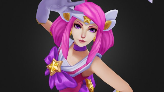 Star Guardian Lux 3D Model