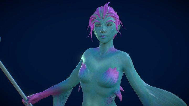 Ninrod sea lady 3D Model