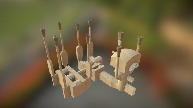 Furnace and Hypocaustum 3D Model