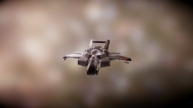 Hornet Star Citizen 3D Model