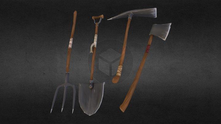 Toon Tools 3D Model