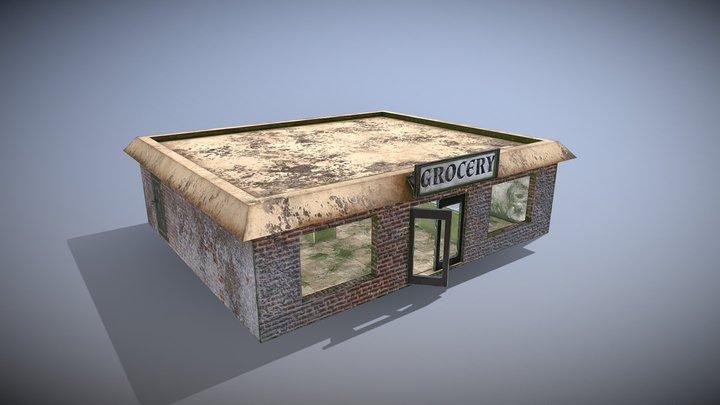 Abandoned Shop/mall 3D Model
