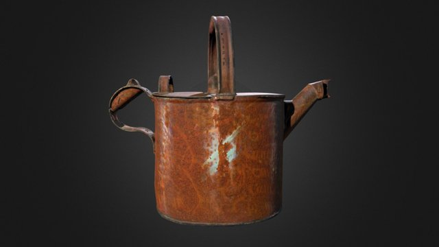 Hot Water Can 3D Model