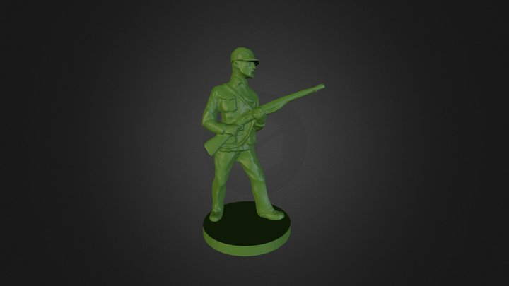 Norwegian soldier 3D Model