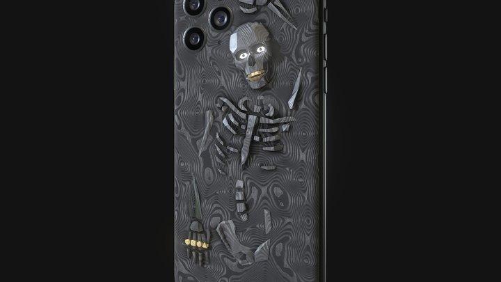 Hadoro iPhone 11 Pro | Bling Bony 3D Model