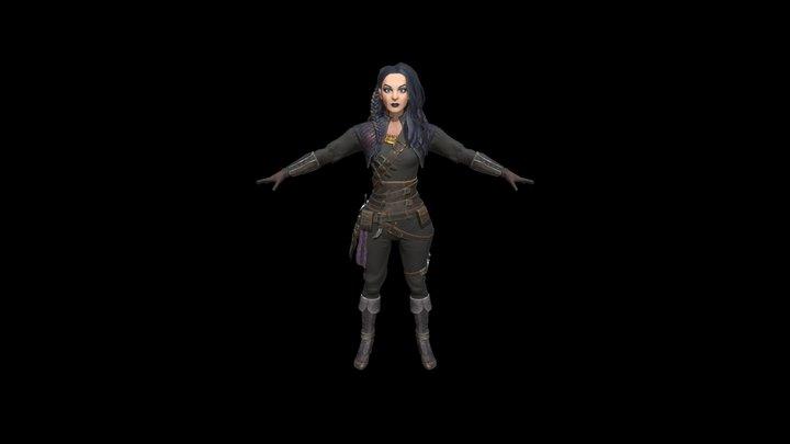 Hun 3D Model