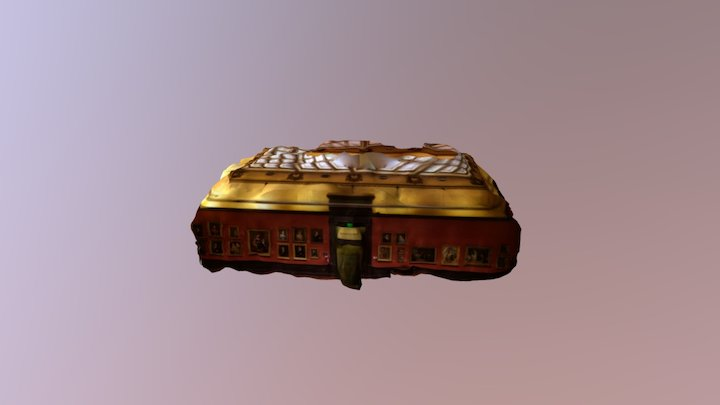 Anthony J. Drexel Picture Gallery 3D Model