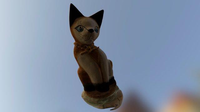 Cat- Mother 3D Model