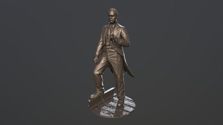William C. Goodridge 3D Model