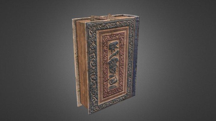 Vintage Book A401 3D Model