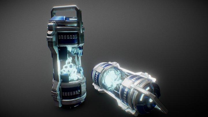 Sci Fi Fuel Cells 3D Model