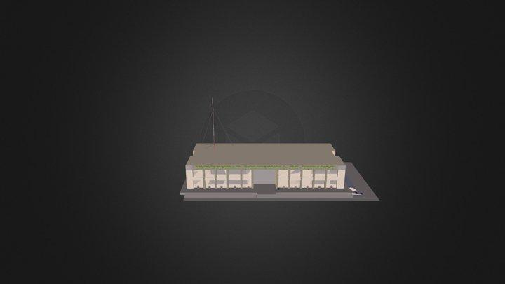 Edificio U D1 3D Model