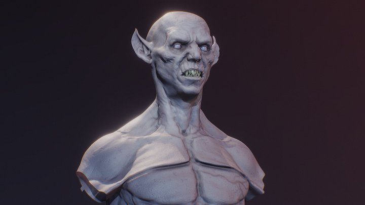Vampire lord (WIP) 3D Model