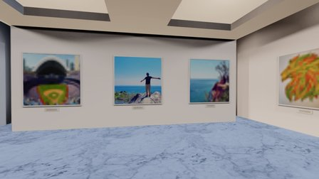 Instamuseum for @wriparip 3D Model