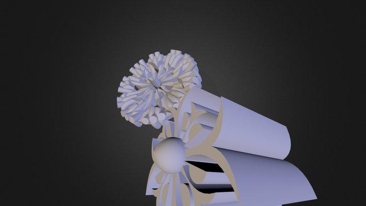 מחבר אבקה 3D Model