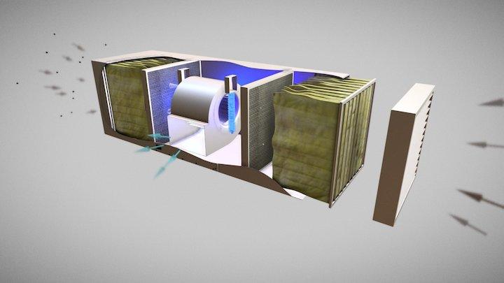 Clean Leaf-anim-dust 3D Model