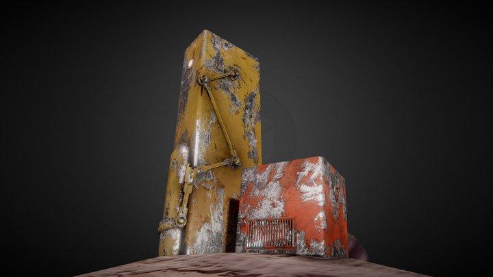 Unity_Neon_Main House 3D Model