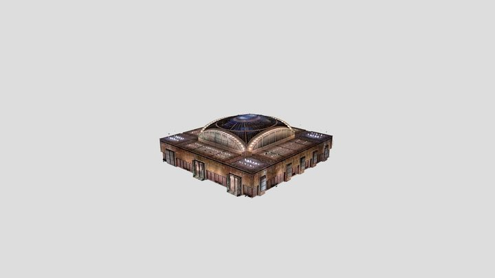 NYPL (Downsampled) 3D Model