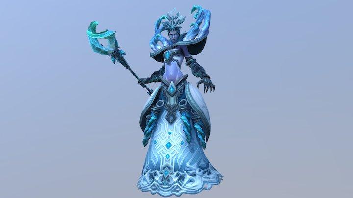 Ice Queen 3D Model