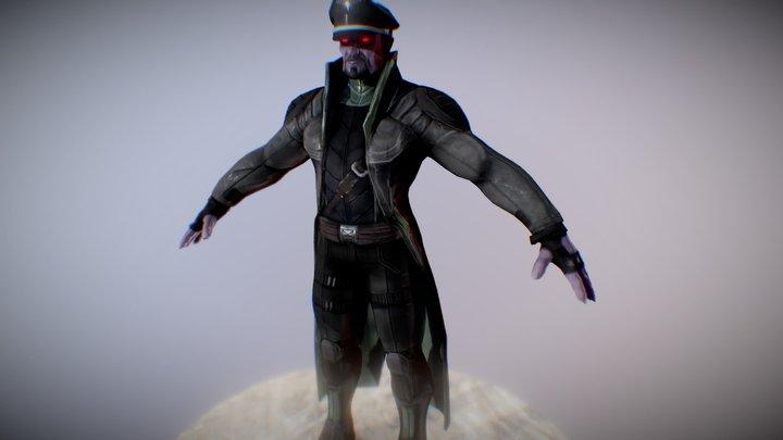 Vampire Officer 3D Model