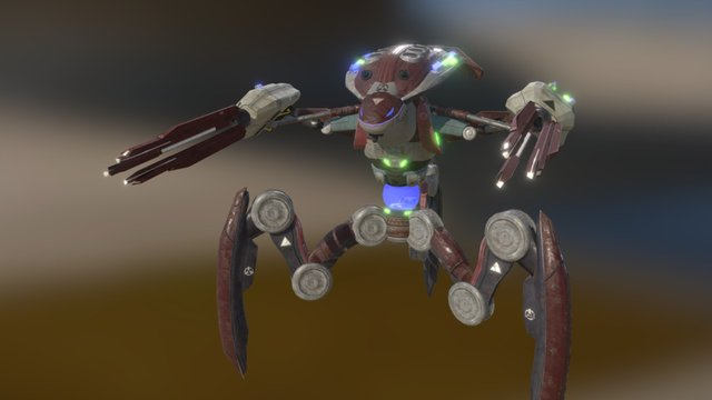 War of the Worlds - Tripod 3D Model
