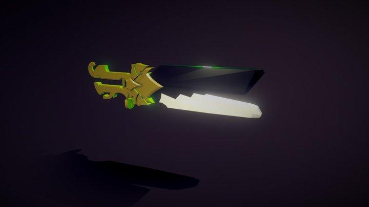 Senna's Relic Cannon (WIP) 3D Model