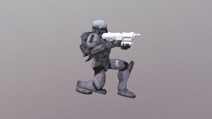 Republic Commando Soldier (Default) 3D Model