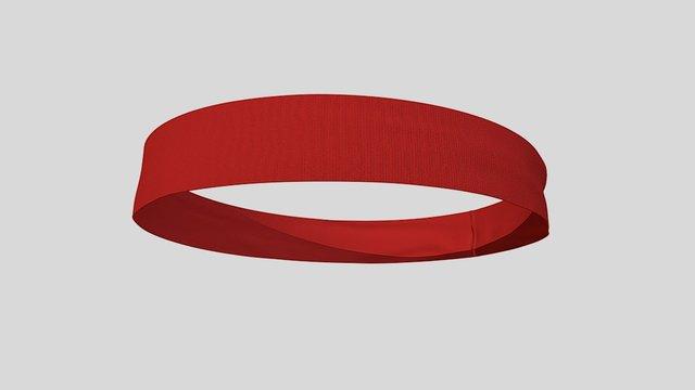 Flat Band2inch 3D Model