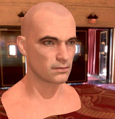 Alex Head Test5A 3D Model