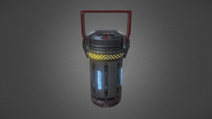 BAK-1NG Class Power Core 3D Model