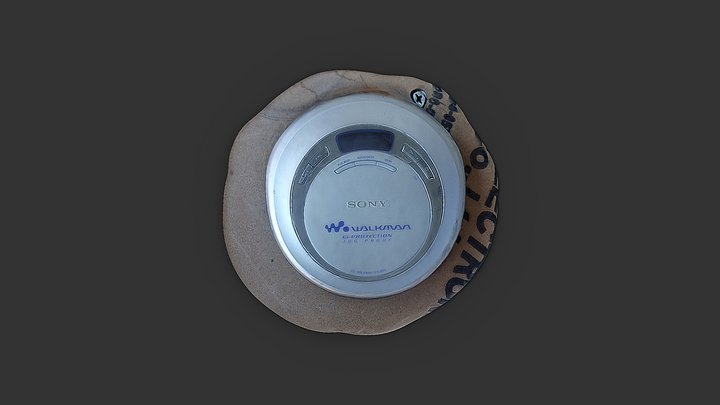 Sony Walkman 3D 3D Model