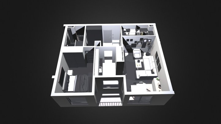 Mieszkanie Modehpolmo 3D Model