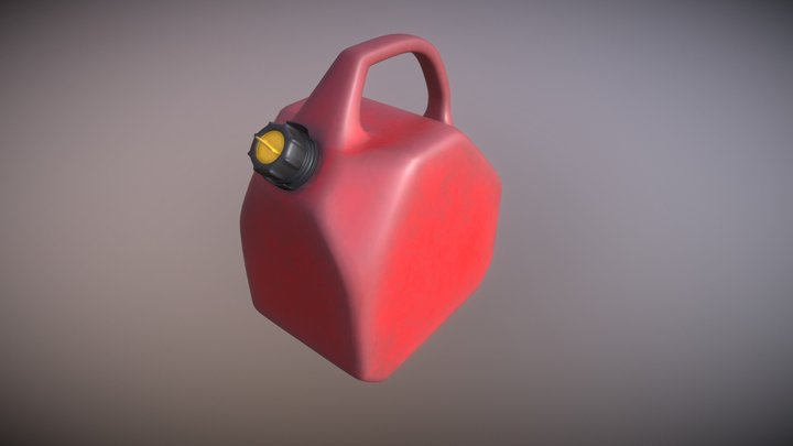 Fuel Container 3D Model