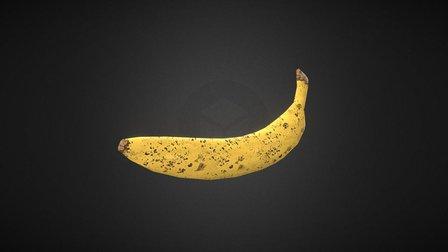 Banana Asset 3D Model