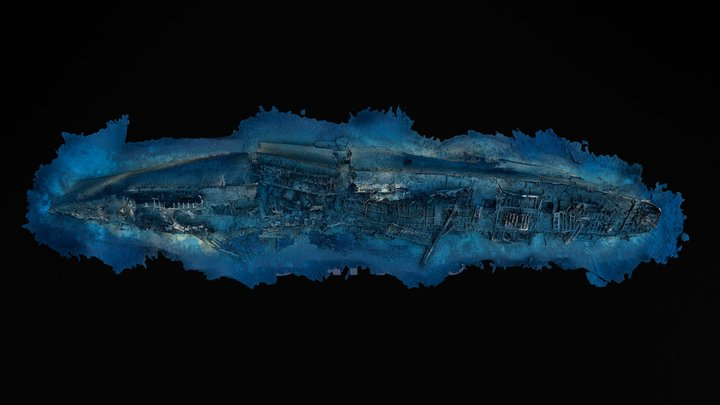 SS Le Polynesien - High Resolution 3D Model