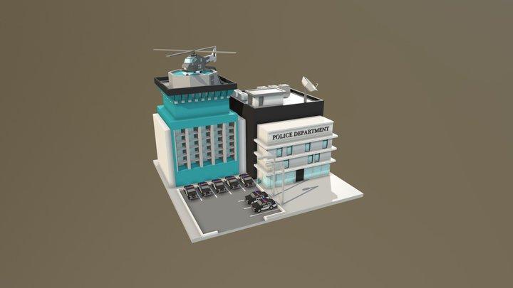 Police department 3D Model
