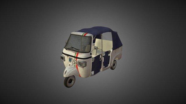 Tuktuk Web 3D Model