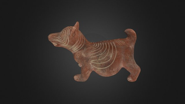 Ceramic Dog Effigy Reproduction