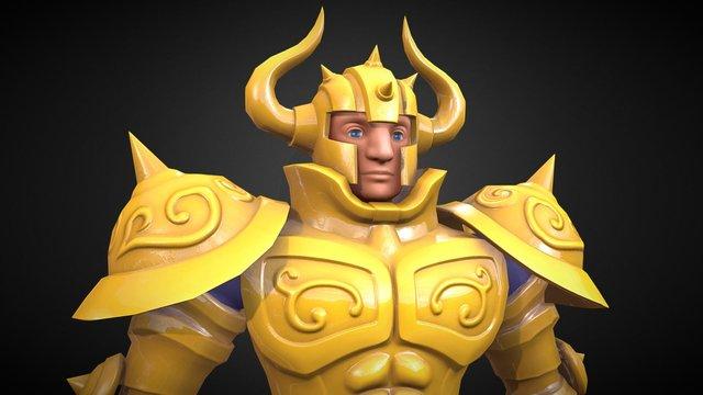 Aldebaran Fan Art 3D Model