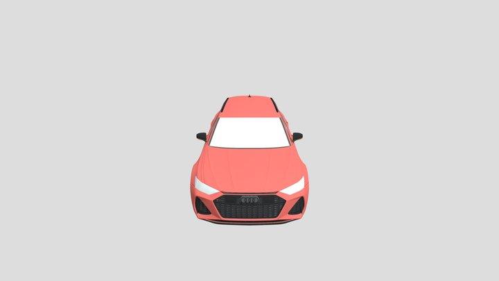 Audi RS 6  .fbx 3D Model