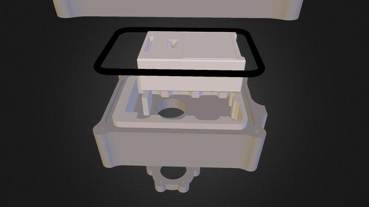 Custodia Gopro Sub Video Out 3D Model