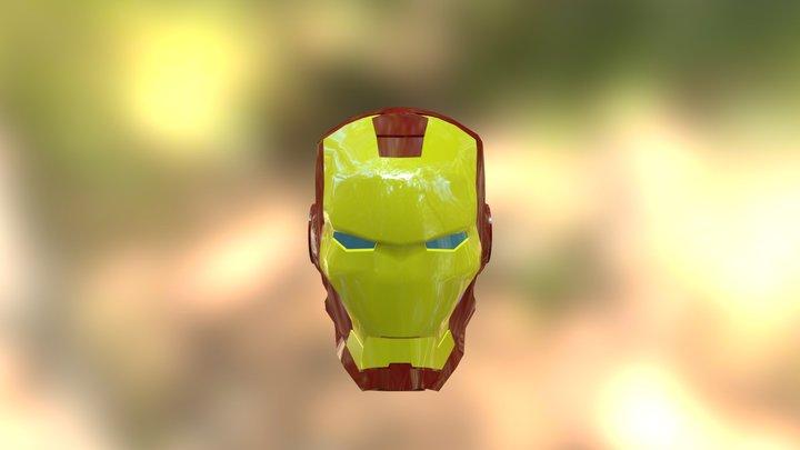 Iron Man Helmet Eyes 3D Model