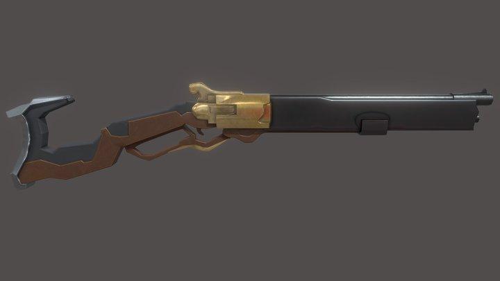 Ashe Rifle 3D Model