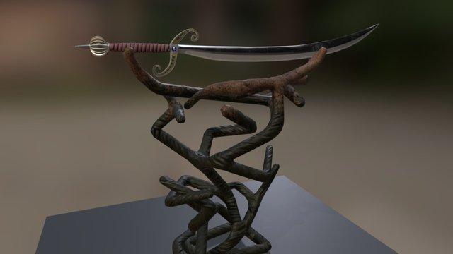 Aladin Blade 3D Model